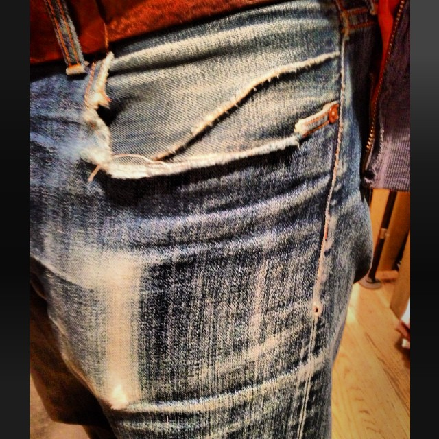 #wellworn #vintage #denim #selvedge #selvedgedenim #japaneseselvedge #jeanshop