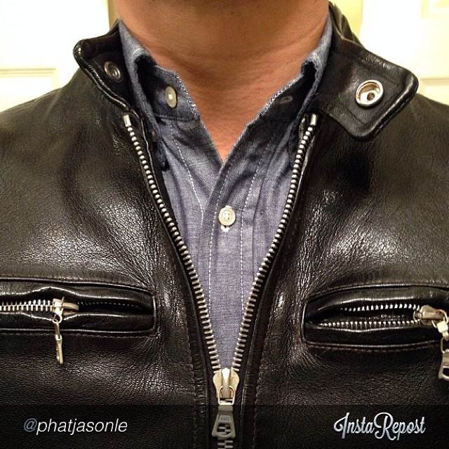 "by @phatjasonle ""#weargustin #jeanshop #madeinusa #wiwt #ootd #hardgoods"" via @InstaReposts"