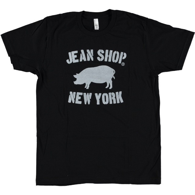 #jeans #jeanshop #meatpacking #nyc #tshirt #pig #wearthepig #denim #new York