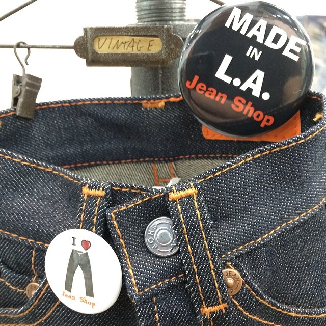 Made in LA #madeinamerica #madeinusa #jeans #denim #details #selvedge #style #fashion #minijean #projectshow #thetents #thebest #japaneseselvedge