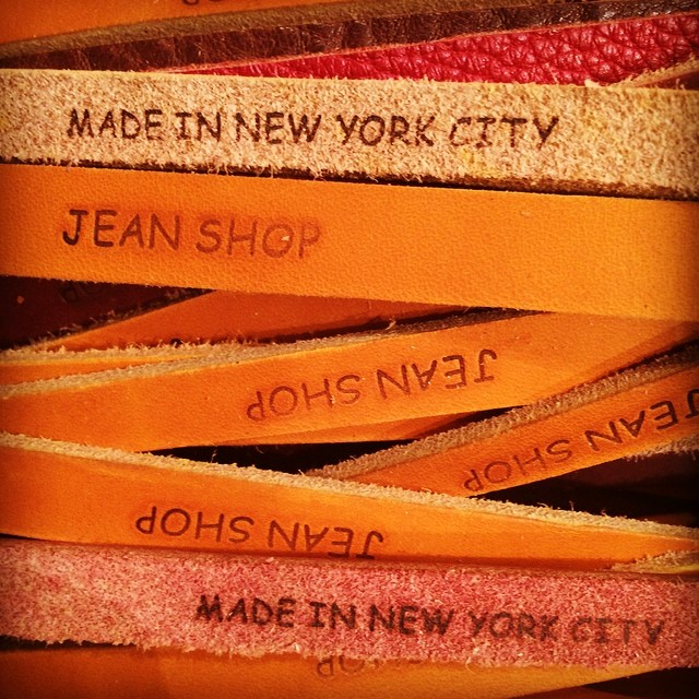 Some new bracelets on the way to Germany for a special store opening of Steroe/Muc in Munich congrats  @kometundheldeninstagram #madeinusa #madeinnyc #leathercraft #leather #bracelets #jeanshop #jeanshopny