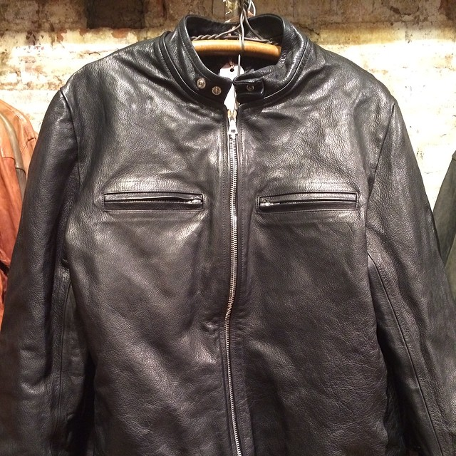 Moto jacket new skins looking and feeling great. #motojacket #jeanshop #leather #madeinusa #madeinamerica #nyc #fashion #style