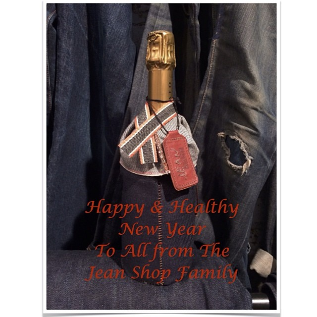 #happynewyear #hny #jeans #jeanshop #jeanshopny #jeanshopnyc #vintage #denim #japaneseselvedge #selvage #leather #denim #champaign #celebrate #madeinamerica #madeinusa #meatpacking #fashion #fashionblog