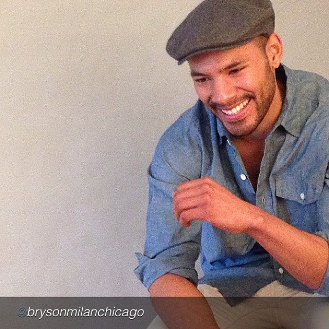 "by @brysonmilanchicago ""Today's photo shoot … Sneak peak #jeanshop#jbrand#brysonmilan #fashion#model#shoot#denim"" #jeans #denim #fashion #menswear #mensstyle #madeinusa"