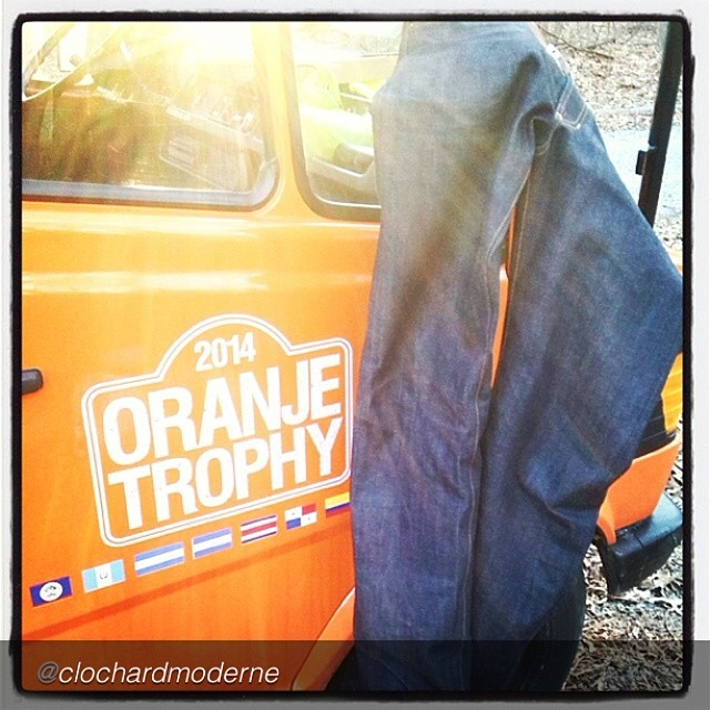 "by @clochardmoderne ""Day 3 #jeanshop #oranjetrophy #clochardmoderne #verybloodyf-ingcold #raw #denim"" @clochardmoderne how is it going"