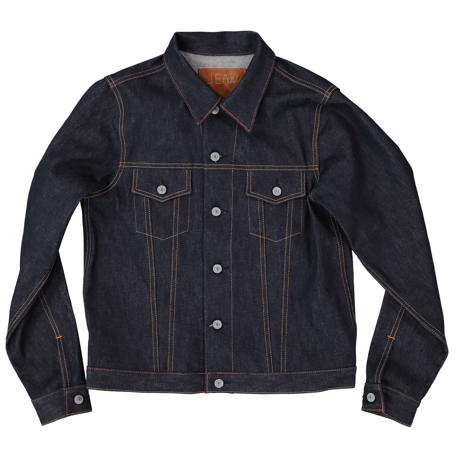 Men's Denim Jacket 13.75oz American Indigo — Jean Shop New York City