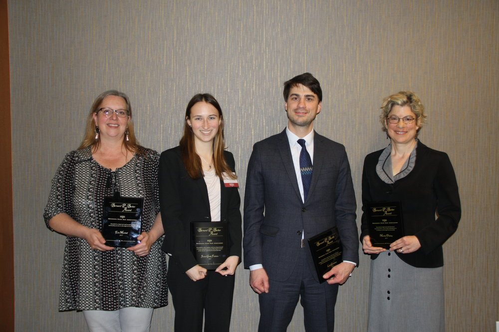 Elsa Marshall, Legal Services State Support; Jessica Grady Federico, Mitchell Hamline School of Law; Luke Grundman, Mid-Minnesota Legal Aid; Delaney Russell, Volunteer Lawyers Network