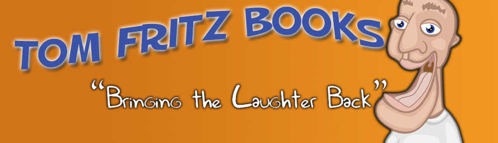 Website Banner for author Tom Fritz