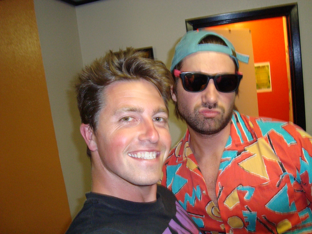 Me and MC Vagina. Some people know him as Jon Lajoie. But I only know him as McVag. In San Fran.