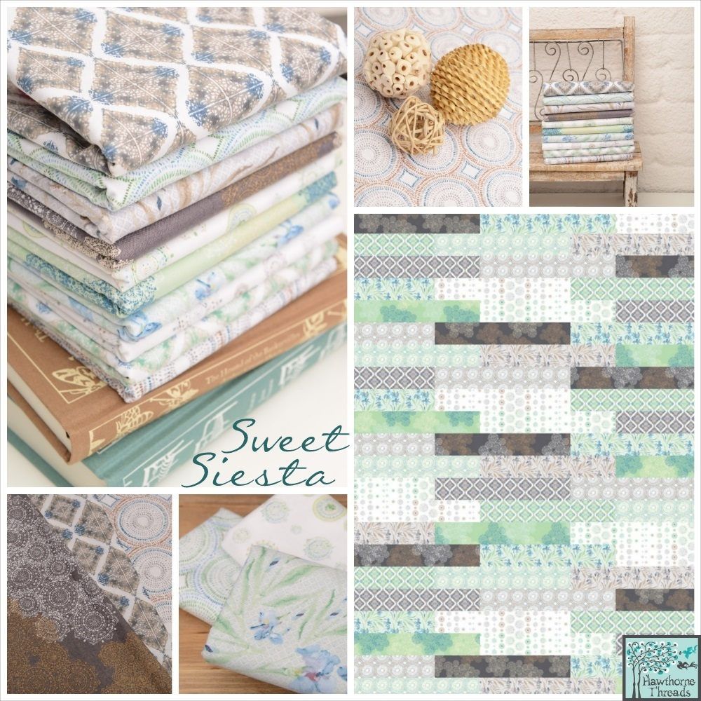 Shell Rummel Sweet Siesta Fabric ~ Shellrummel.com