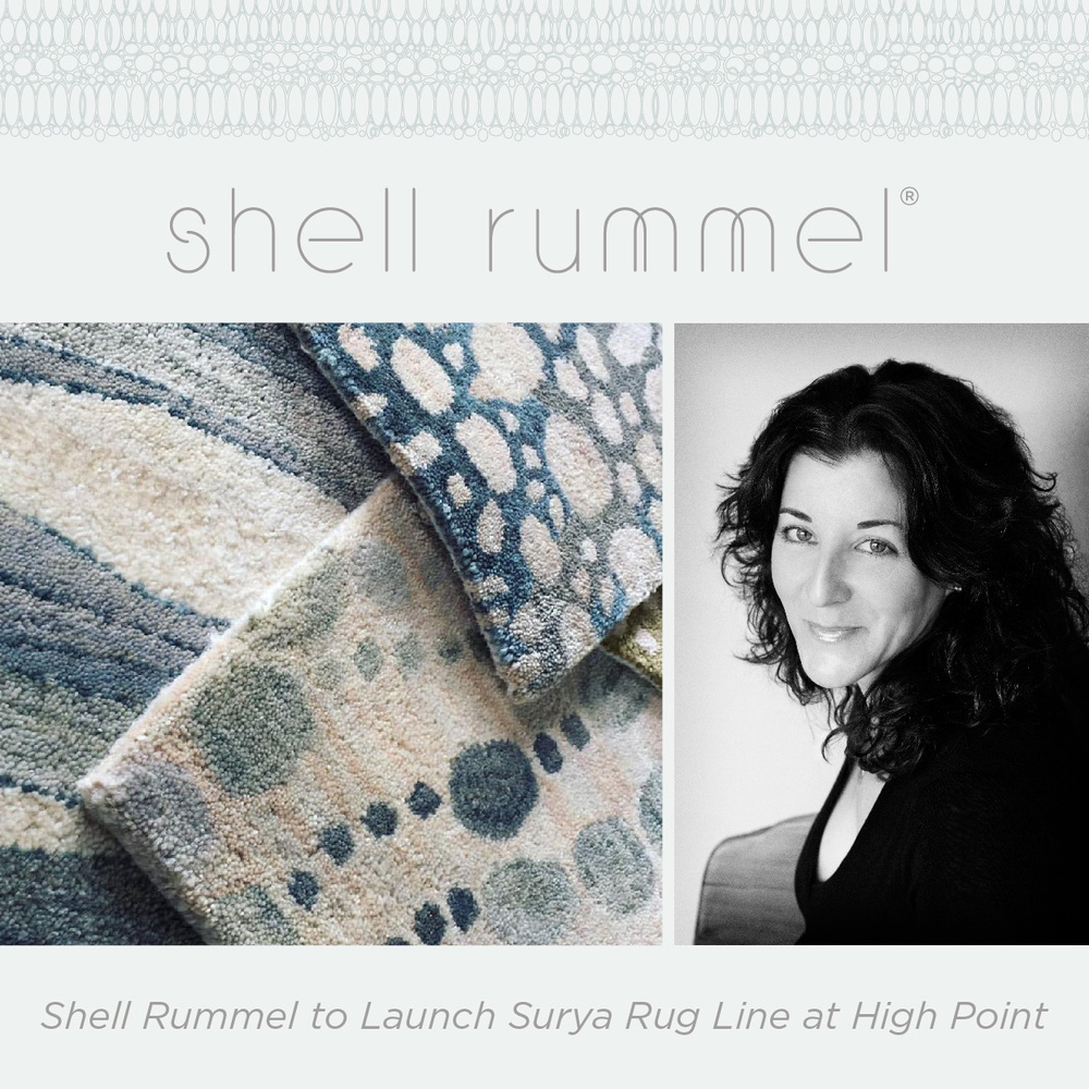 Shell Rummel and Surya Launch Rugs