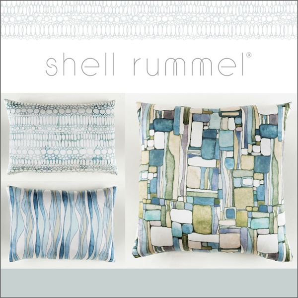 Shell Rummel and Surya Pillows