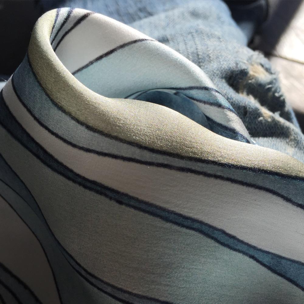 Shell Rummel Silk Pillows