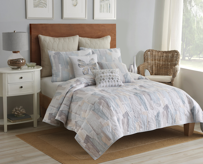 Shell Rummel Sea Glass Quilt set