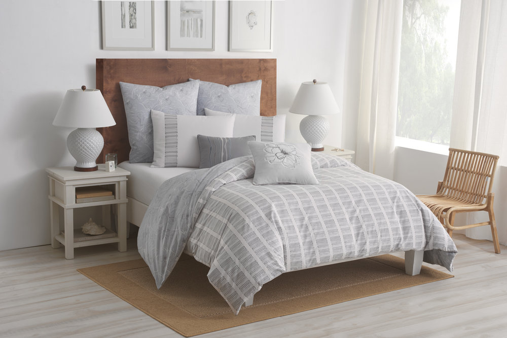 Shell Rummel Soft Repose Reversible Bedding Collection