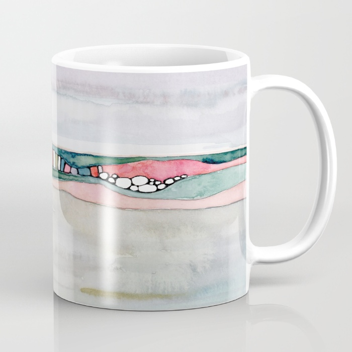 Shell Rummel society6 mugs