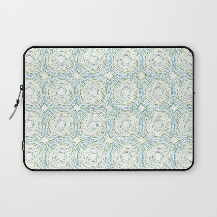 Shell Rummel society6 laptop sleeves