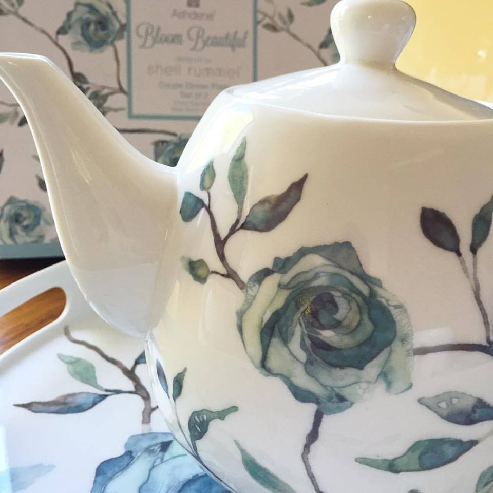 Our Bloom Beautiful bone china collection (teapots, teacups trays and more) is now available via Houzz... Read More...