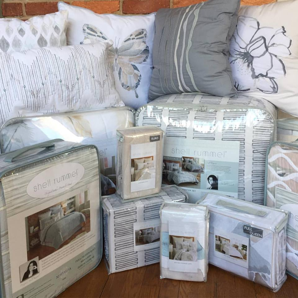 Soft Repose and Sea Glass Mosaic bedding collections are now available via Bed Bath and Beyond online!  Read More...