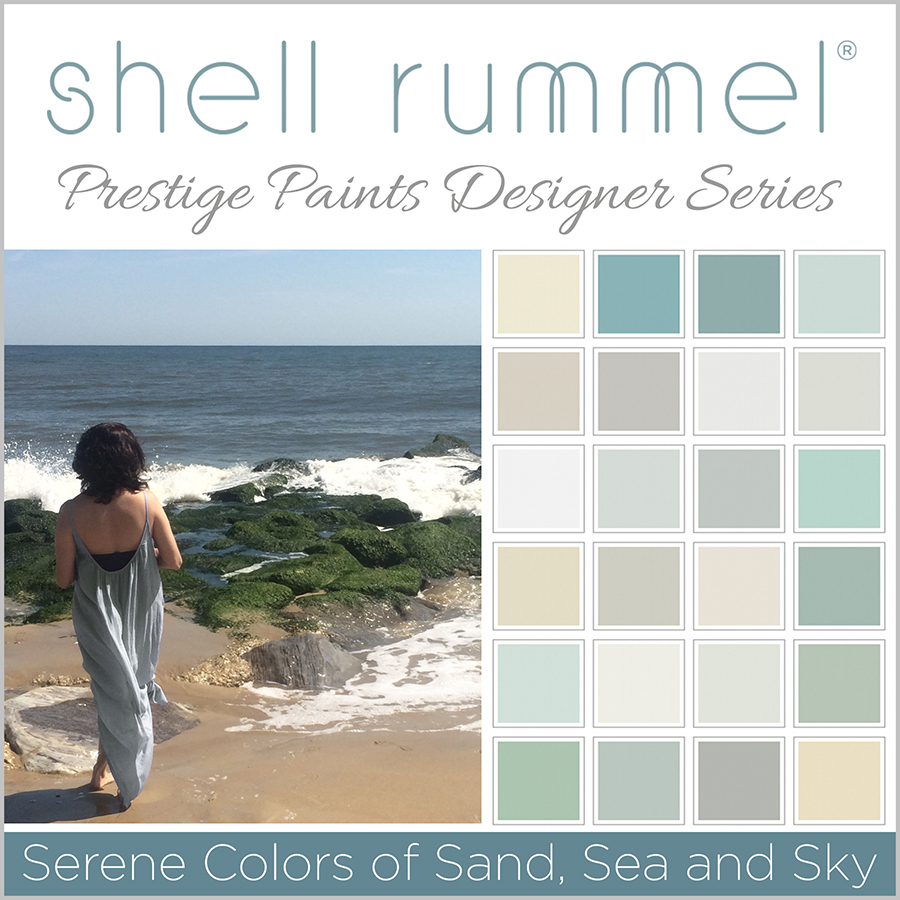 Shell Rummel Prestige Paints designer series