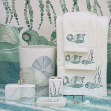 Shell Rummel La Mer Bath Collection