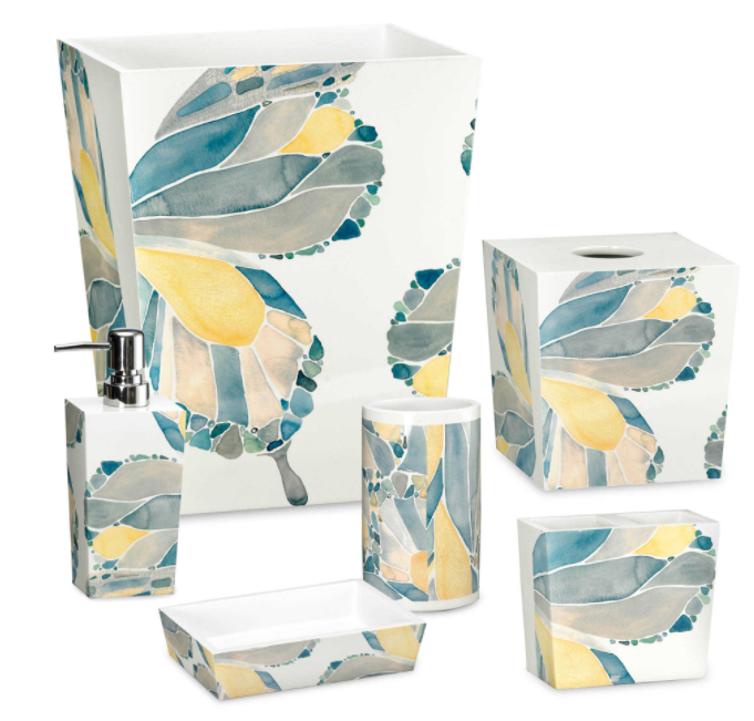 Shell Rummel Butterfly Bath Collection