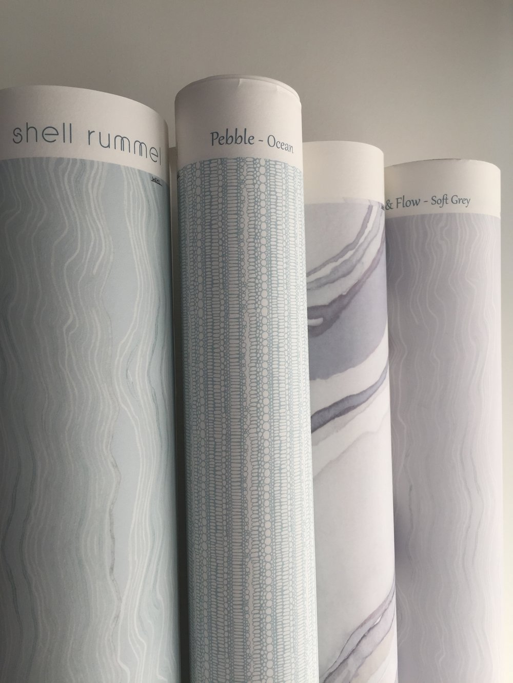 Shell Rummel Studio Collection wallpapers  Modern organic designs that elevate.