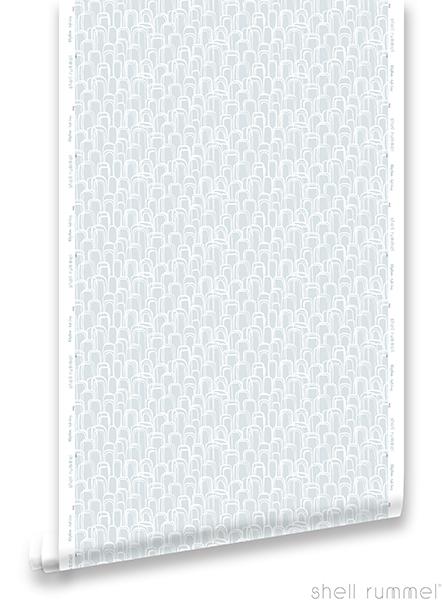 Pattern: Rhythm - Soft Grey