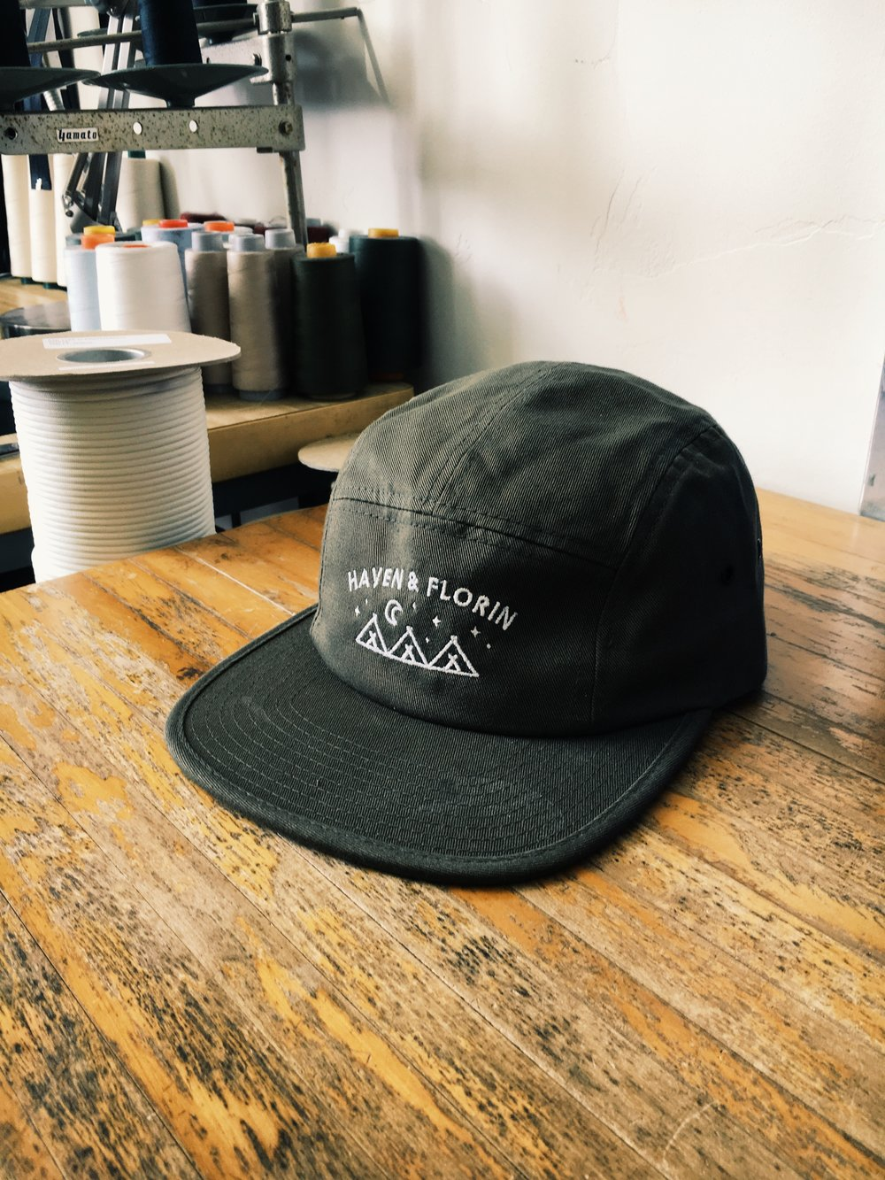 70f1892570563 Happy Camper 5 Panel Hat — Haven   Florin