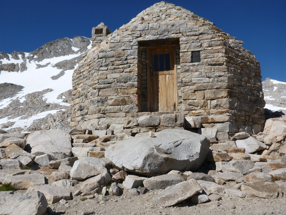 The Stone Hut on Muir Pass