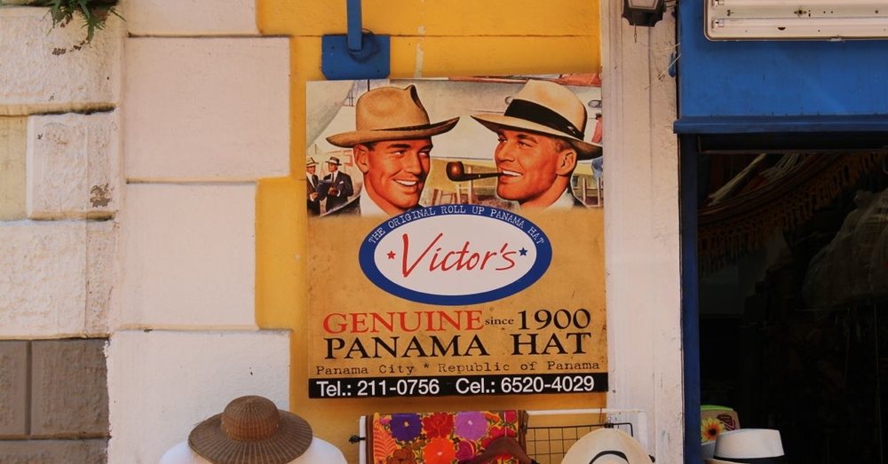 Panama Hats (are from Ecuador)