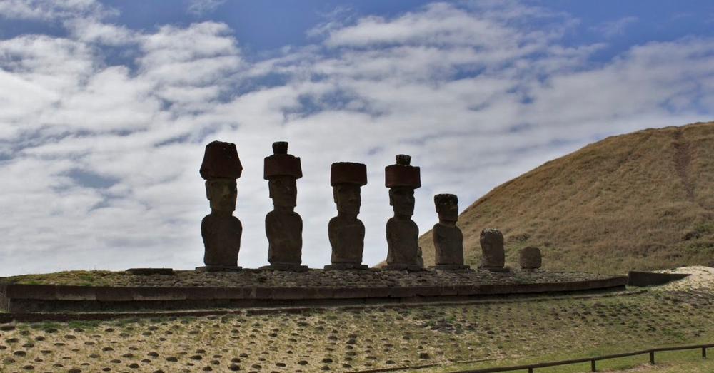 Moai at Anakena
