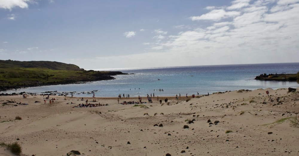 Beach at Anakena