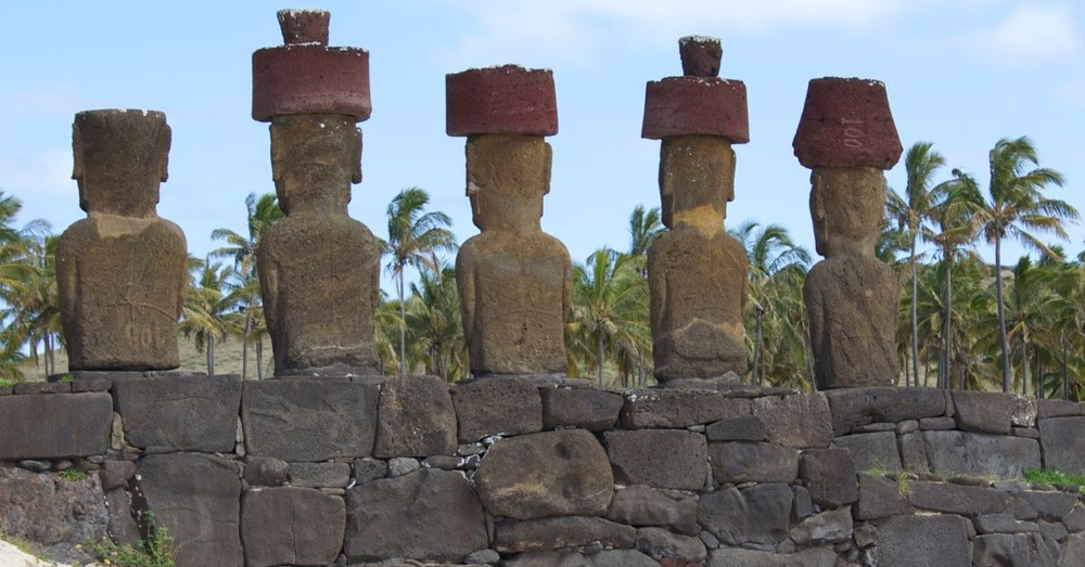 Punished Moai