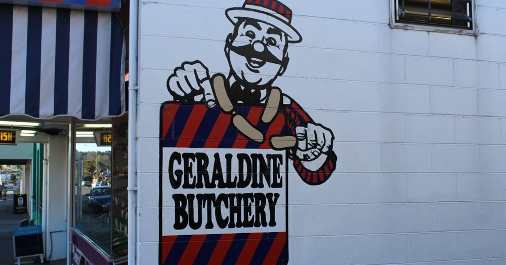 The Geraldine Butchery.