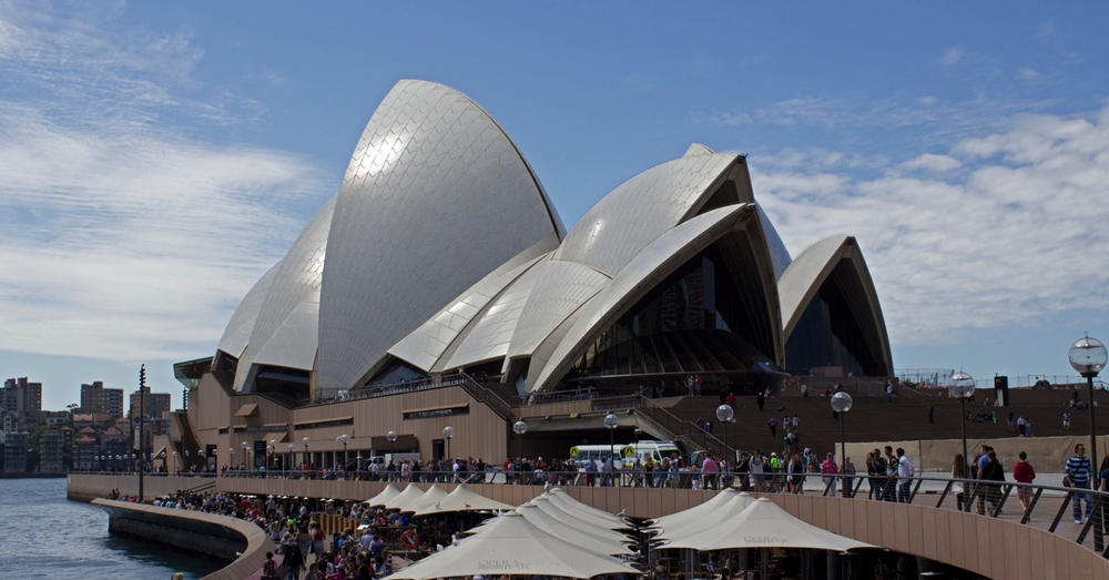 First look at the Sydney Opera House