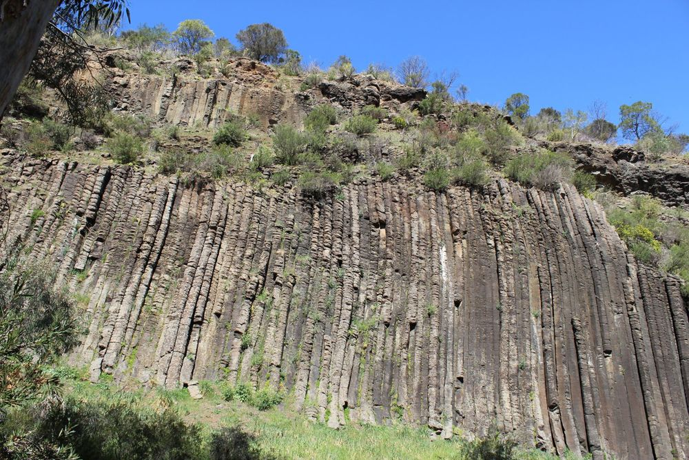 Organ pipes: columnar basalt.