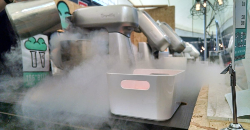 Liquid Nitrogen Ice Cream