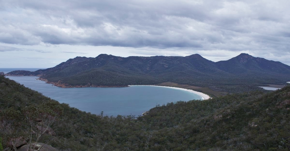 From Wineglass Bay Lookout