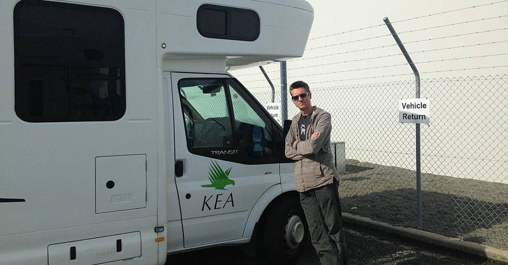 Goodbye, Kea Campervan