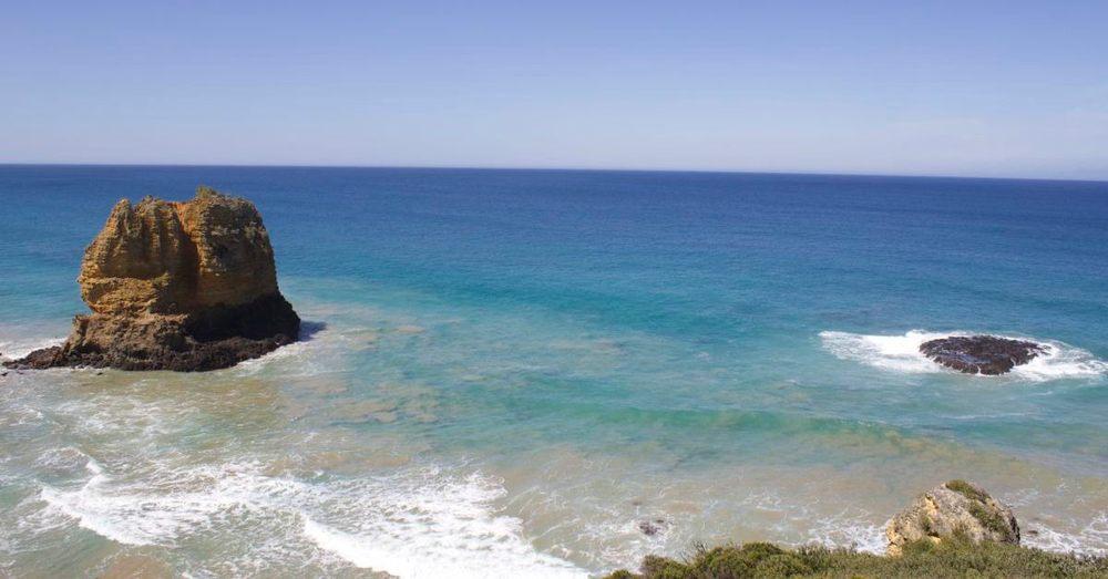 Ladies and gentlemen, the Bass Strait.