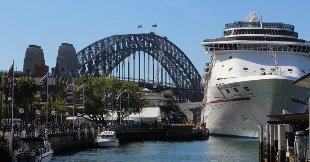 Harbour Bridge with Carnival Legend