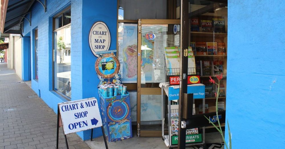 The Chart & Map Shop.