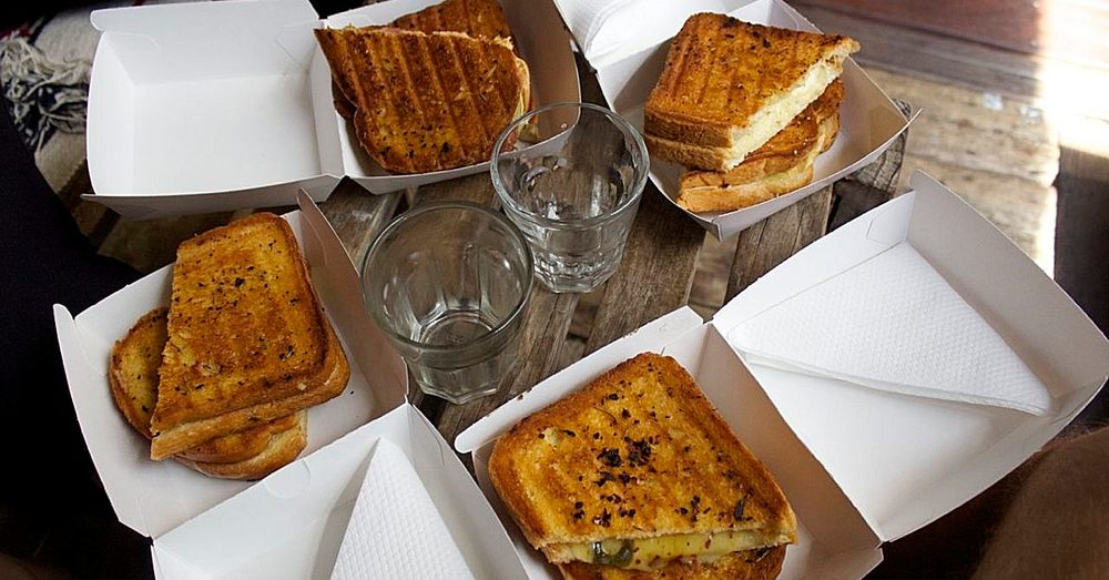 Best grilled cheese sandwiches in the world