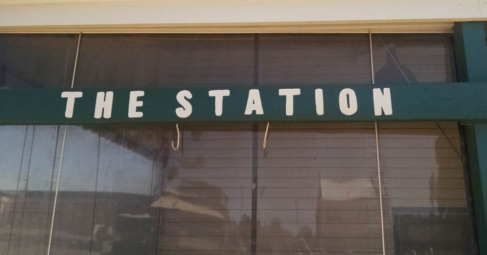 Anyone know where the station is around here?
