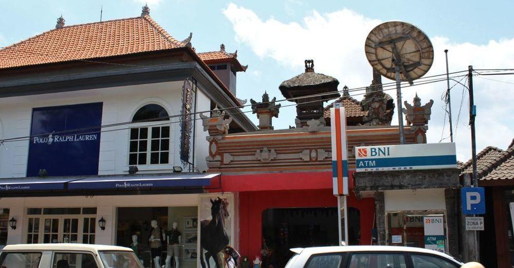 One of the Polo outlets in Ubud.