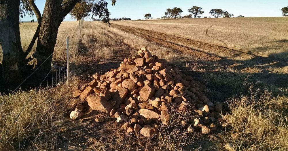 A Pile fo Rocks