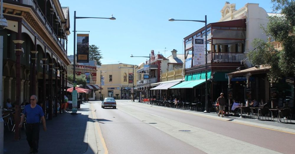 A Street in Fremantle