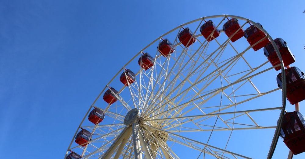 Ferris wheel at Fremantle.