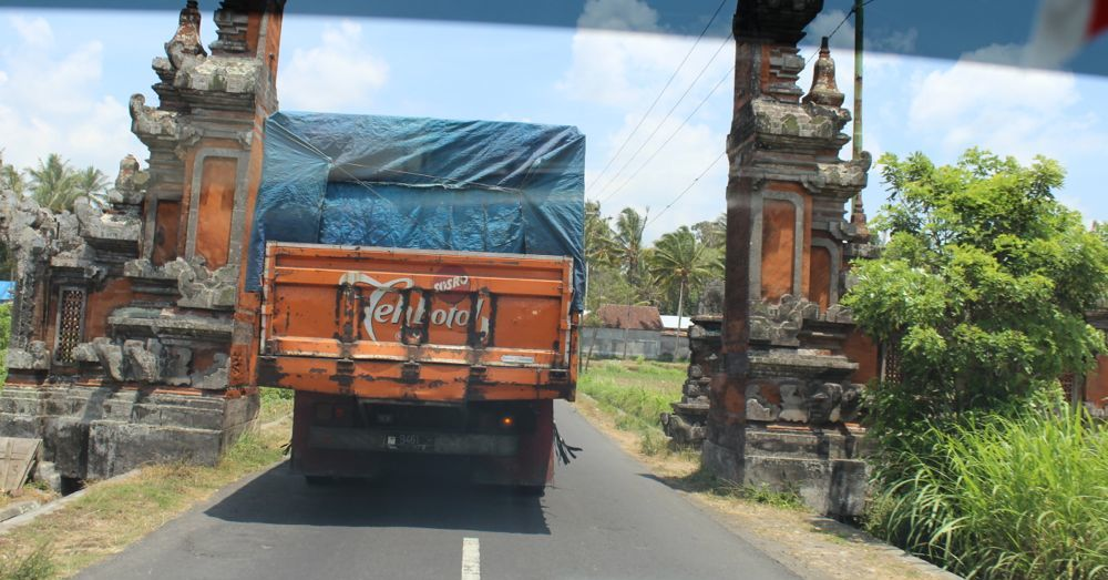 A common sight on the road to Jatiluwih.